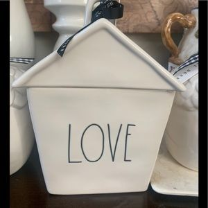 Rae Dunn Accents - RAE DUNN cookie jar Love